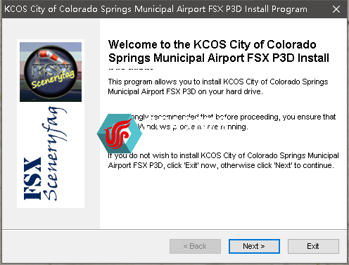 Scenery Builders - KCOS/科罗拉多斯普林斯市机场