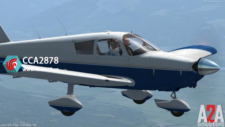 A2A SIMULATIONS - CHEROKEE 180 单发螺旋桨通航机