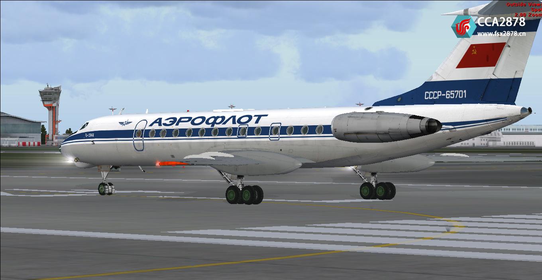 【整合】SCS - Tu-134A-3 图波列夫134 v2.0
